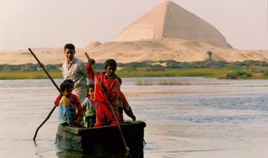 Egyptian poor children