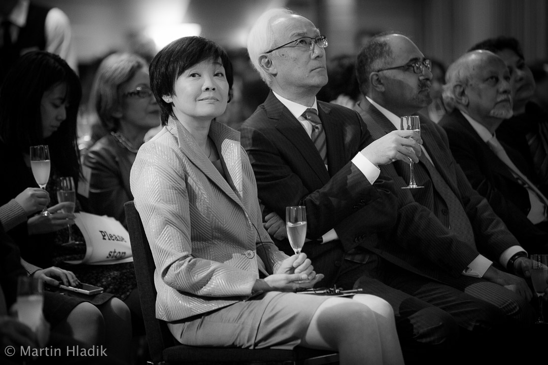 First Lady of Japan - Akie Abe, participates on Asian University for Woman event