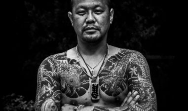Japanese Tattooed Man