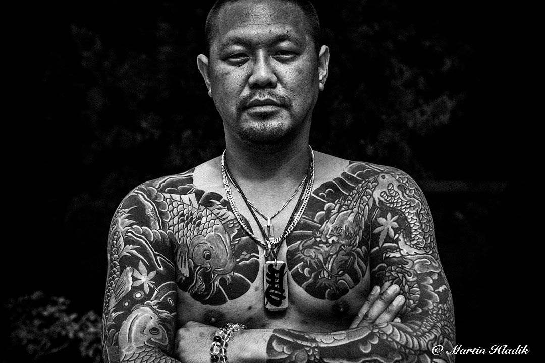 Japanese Tattooed Man