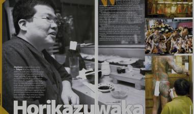 Horikazuwaka Japanese young tattoo master