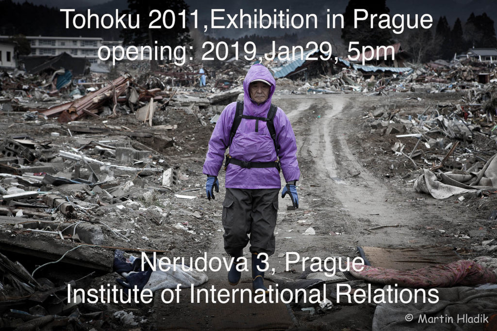 Exhibition of images from Tohoku 2011