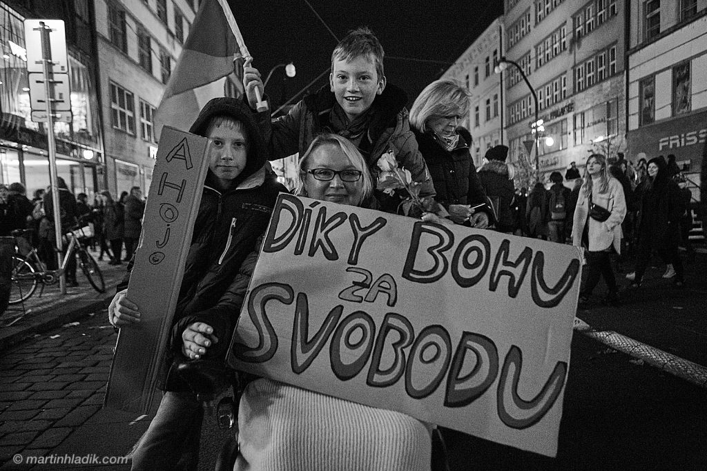 30th Anniversary of the Czech Velvet Revolution