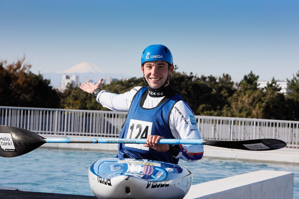 Photos of the Czech Canoe athletes in Tokyo